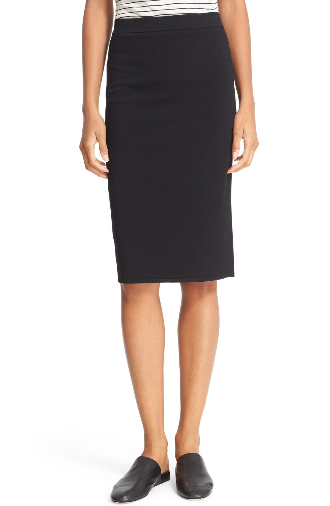 vince jersey pencil skirt nordstrom