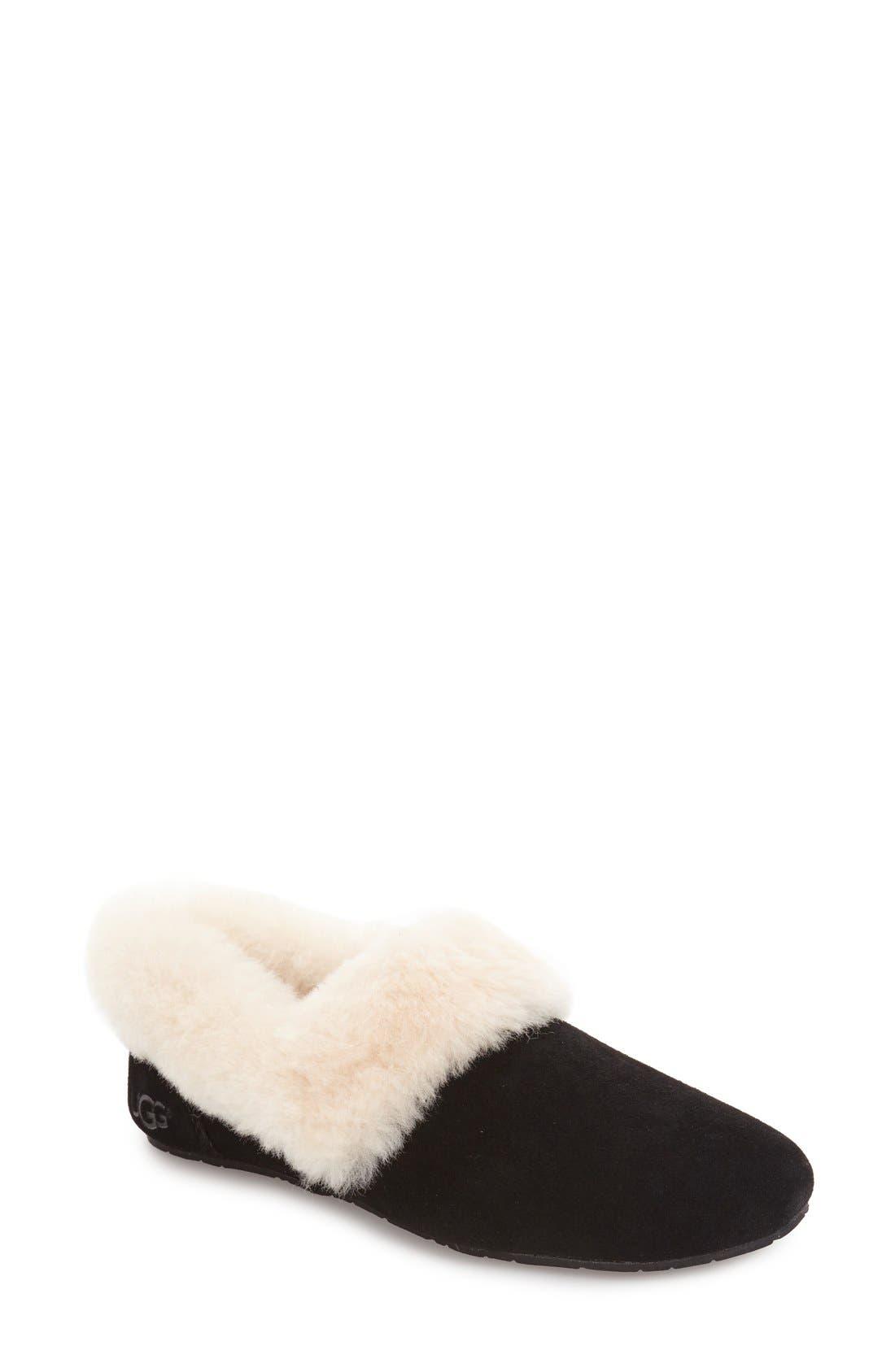 Alternate Image 1 Selected - UGG® Kendyl Genuine Shearling Slipper (Women)