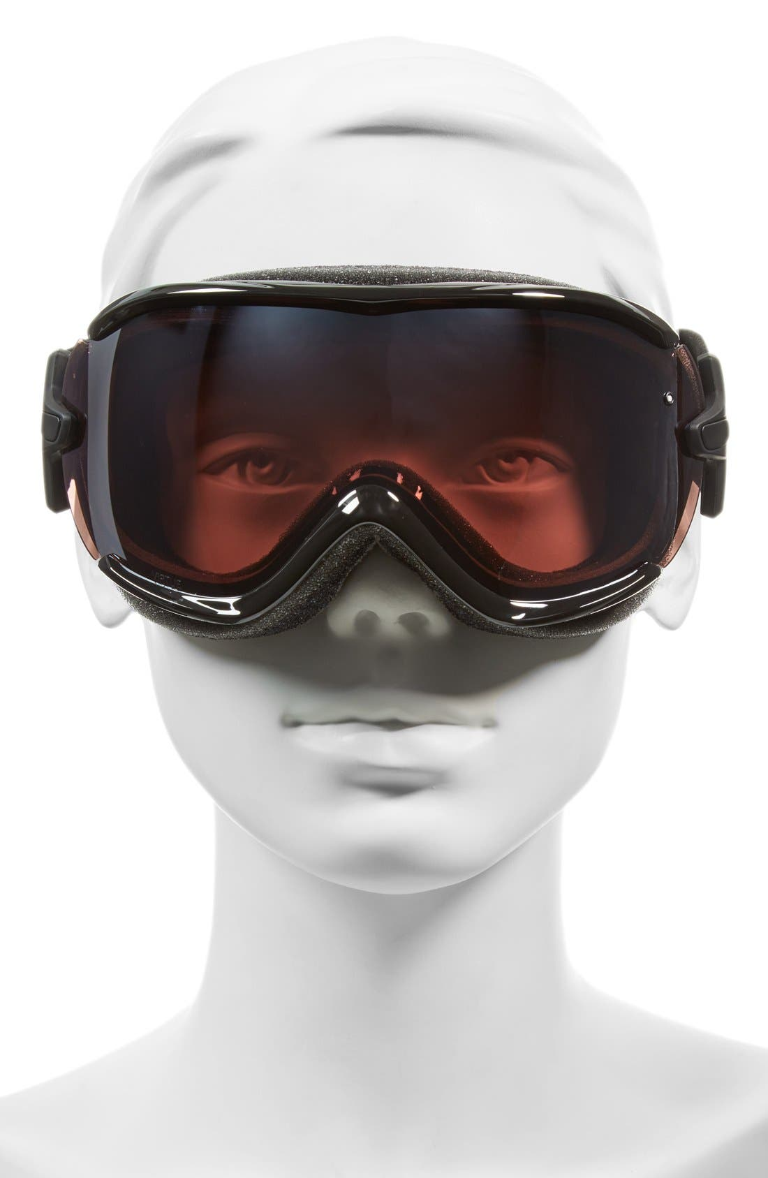 'Virtue' Snow Goggles,                             Alternate thumbnail 2, color,                             Black Eclipse/ Ignitor Mirror
