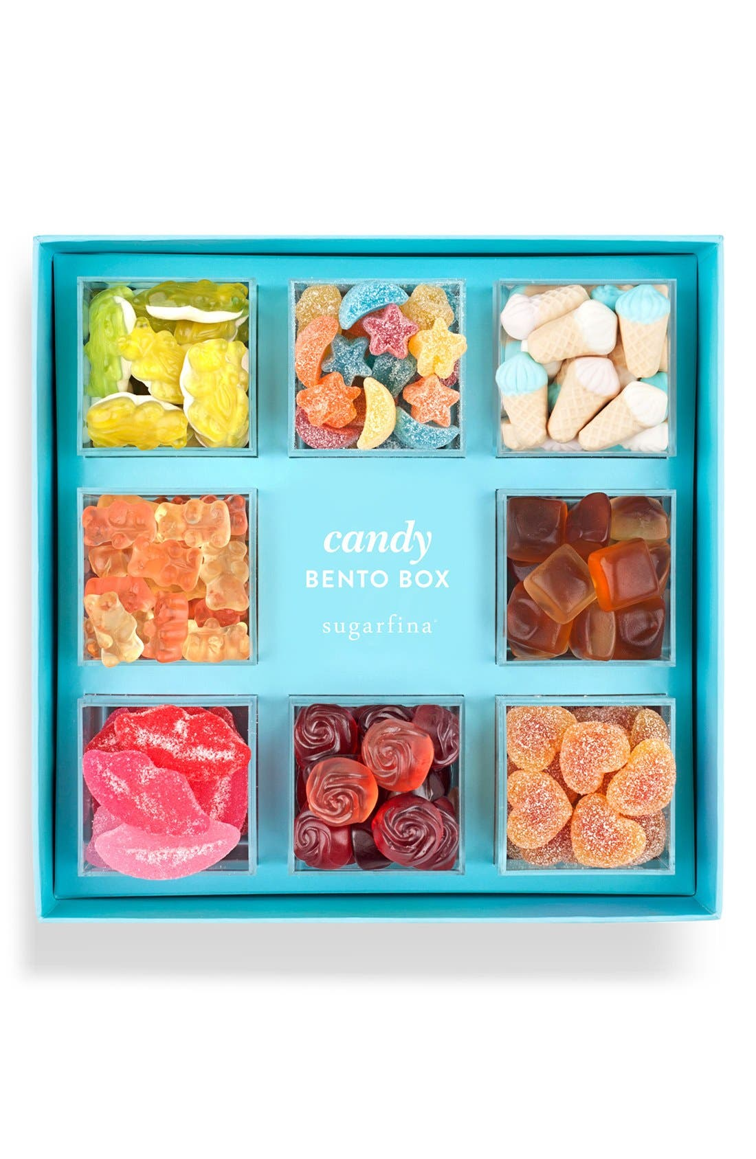 Gummy Love Bento Box,                         Main,                         color, Orange