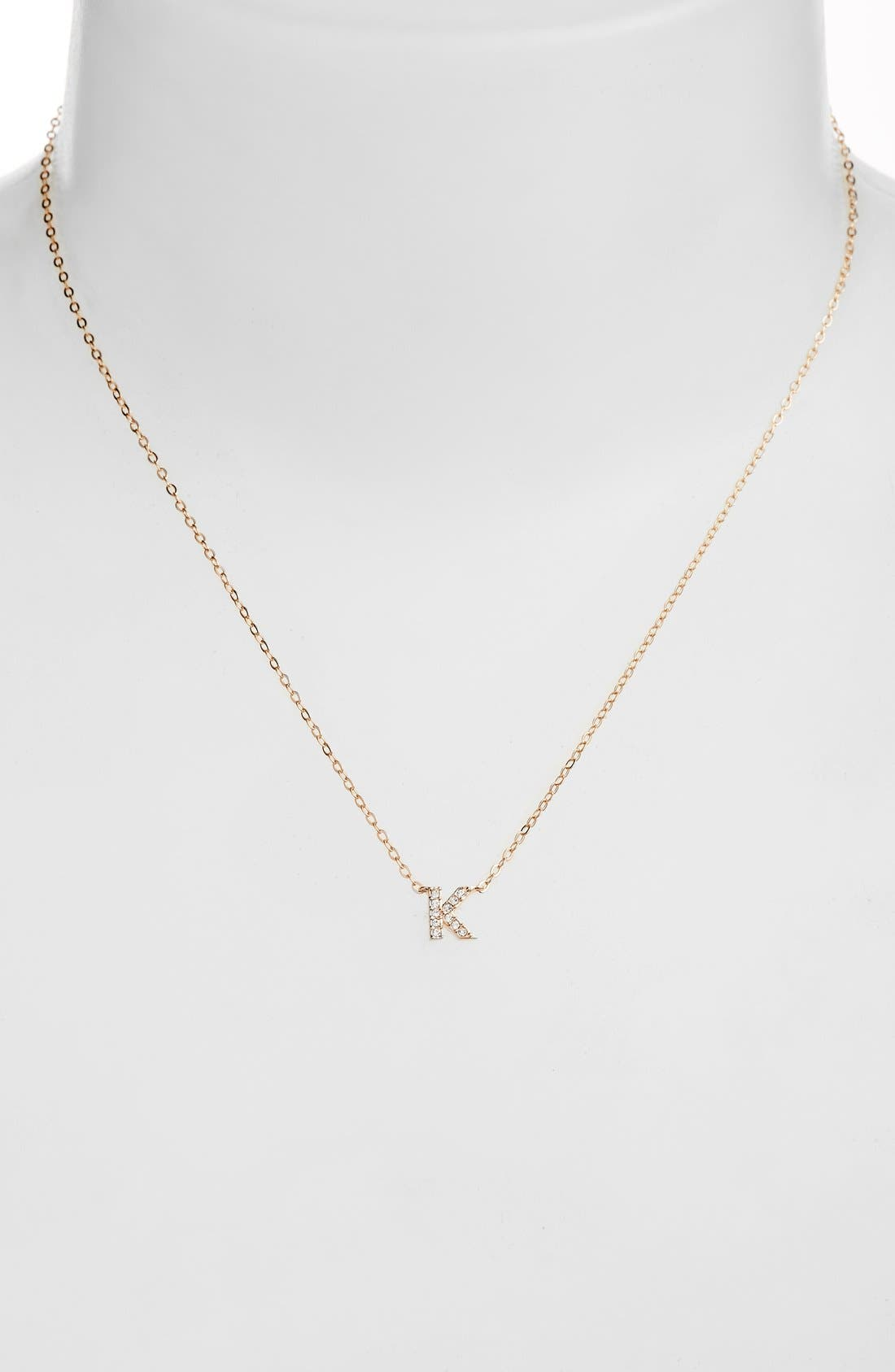 Womens nadri initial necklaces nordstrom aloadofball Choice Image
