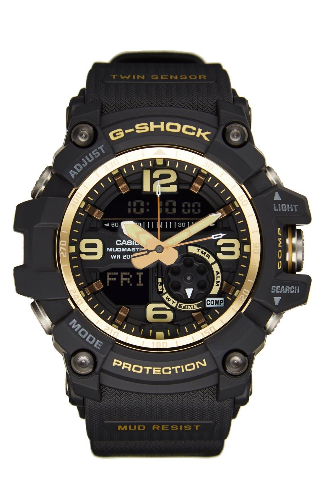 Main Image - G-Shock AD Mudmaster Strap Watch, 50mm