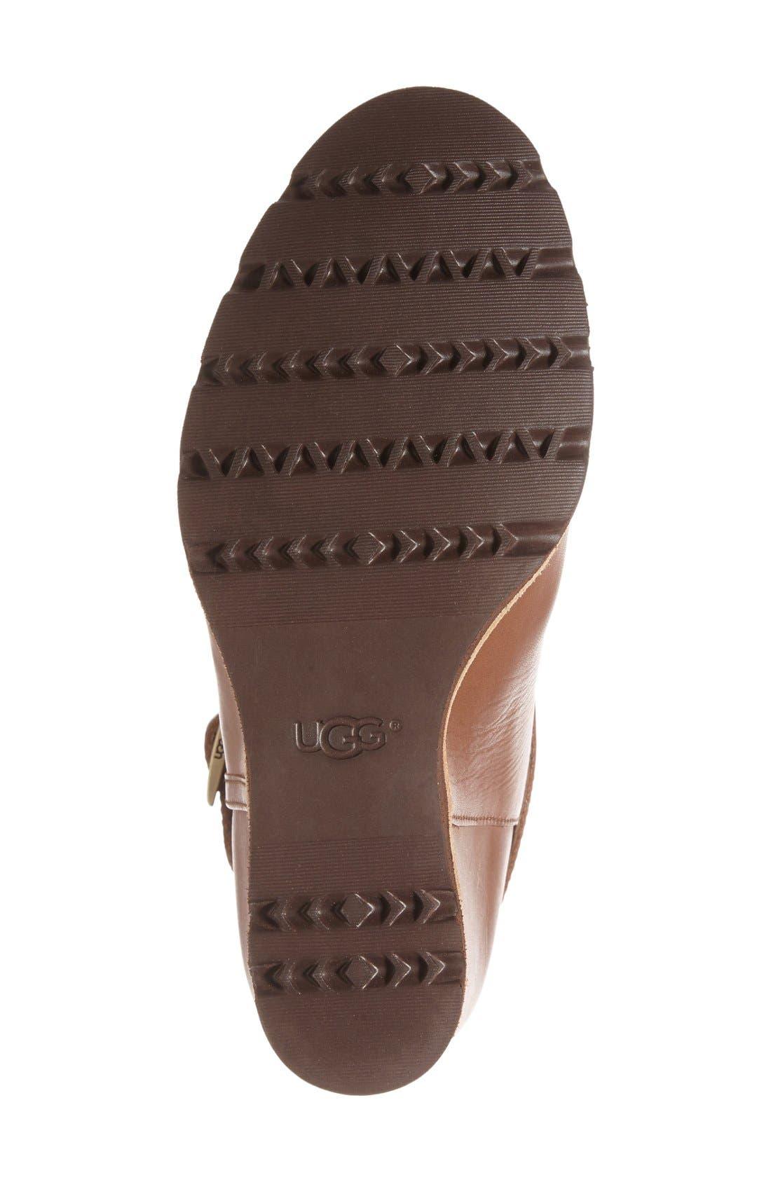 Alternate Image 4  - UGG® 'Ellecia' Wedge Boot (Women)