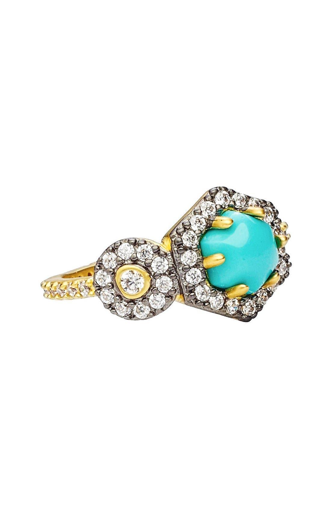 Alternate Image 4  - FREIDA ROTHMAN 'Metropolitan' Stone Two-Tone Ring