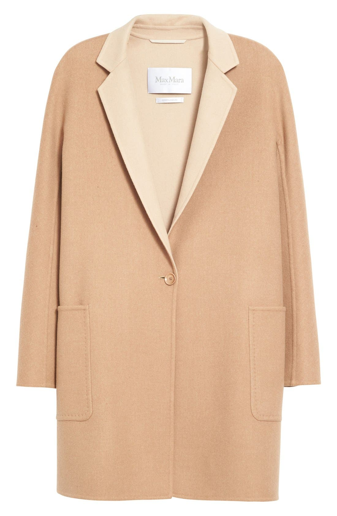 Alternate Image 4  - Max Mara Lillo Wool & Cashmere Bicolor Coat