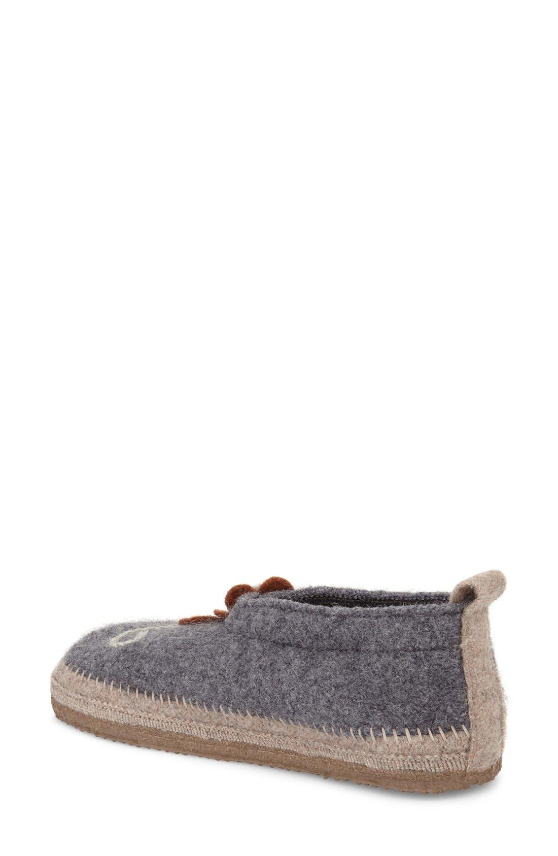 'Lunz' Slipper,                             Alternate thumbnail 2, color,                             Stone Wool