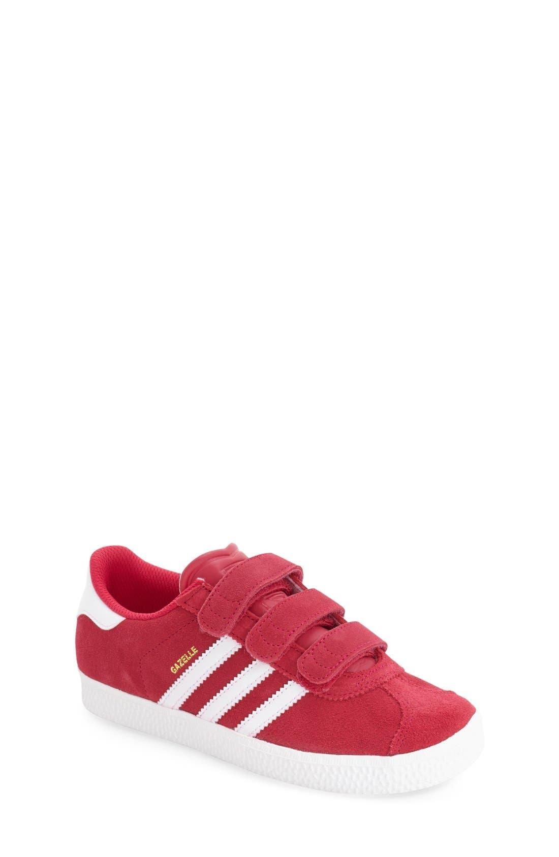 Gazelle Sneaker,                         Main,                         color, Pink