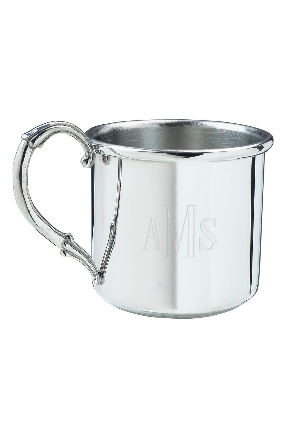 Alternate Image 2  - Salisbury Pewter 'Easton - Cross' Personalized Cup