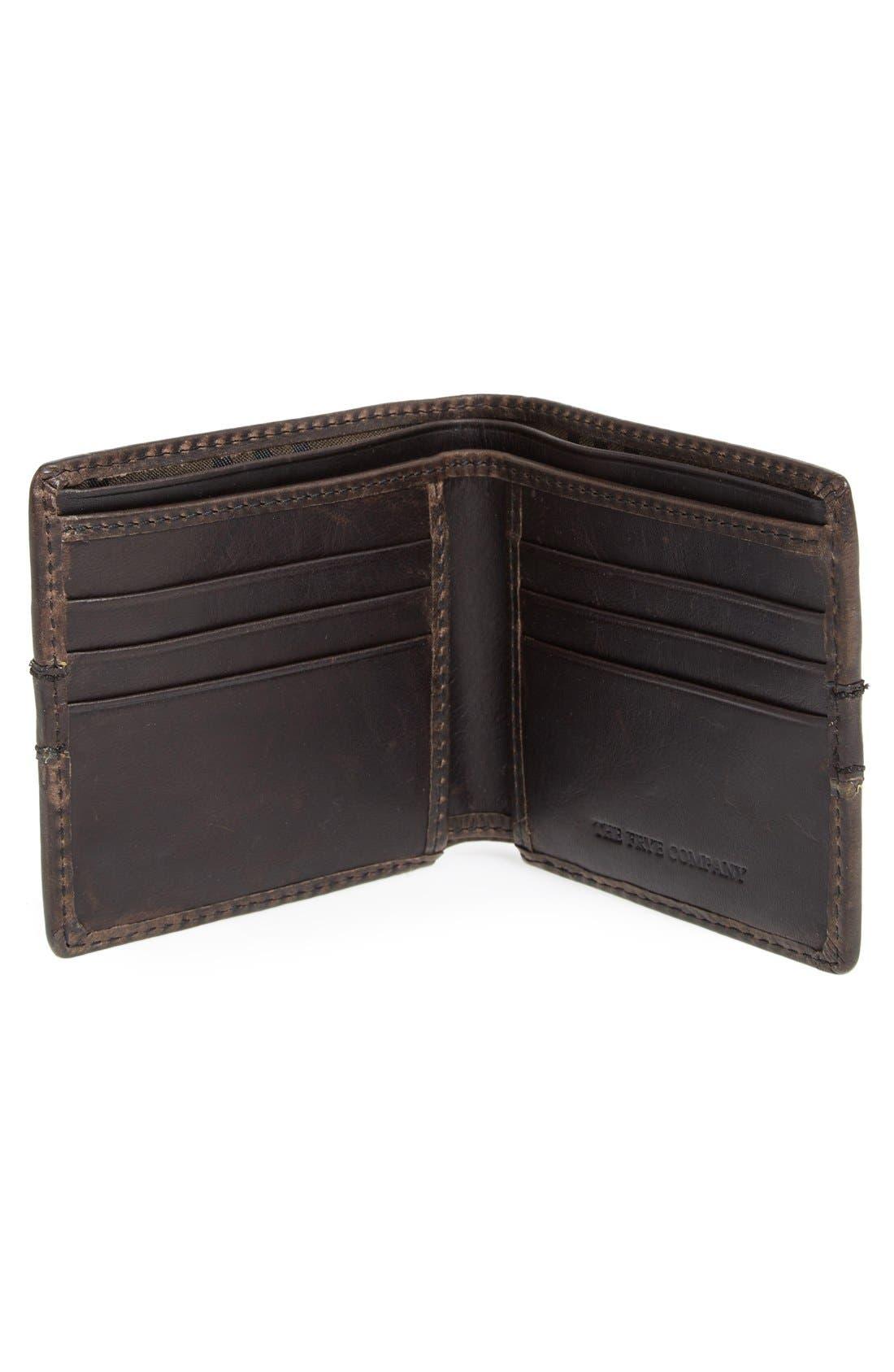 Alternate Image 2  - Frye 'Oliver' Leather Billfold Wallet