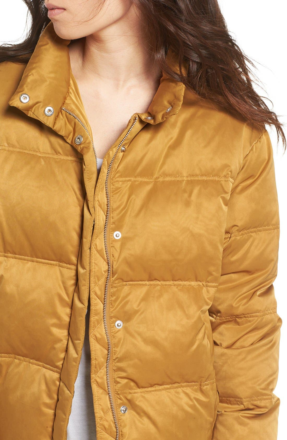 Alternate Image 5  - Topshop Emily Puffer Jacket