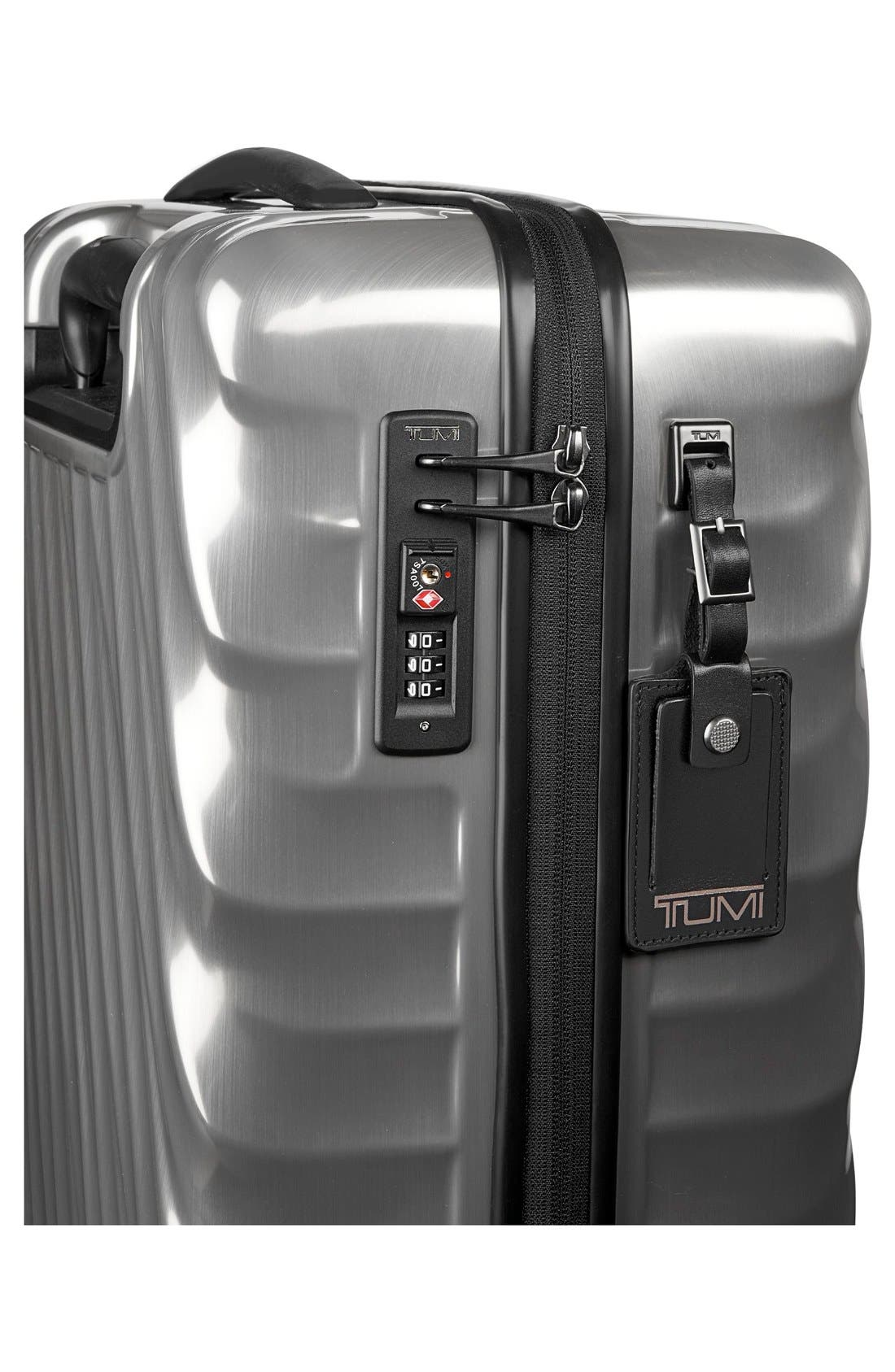 19 Degree 22 Inch Continental Wheeled Carry-On,                             Alternate thumbnail 3, color,                             Silver