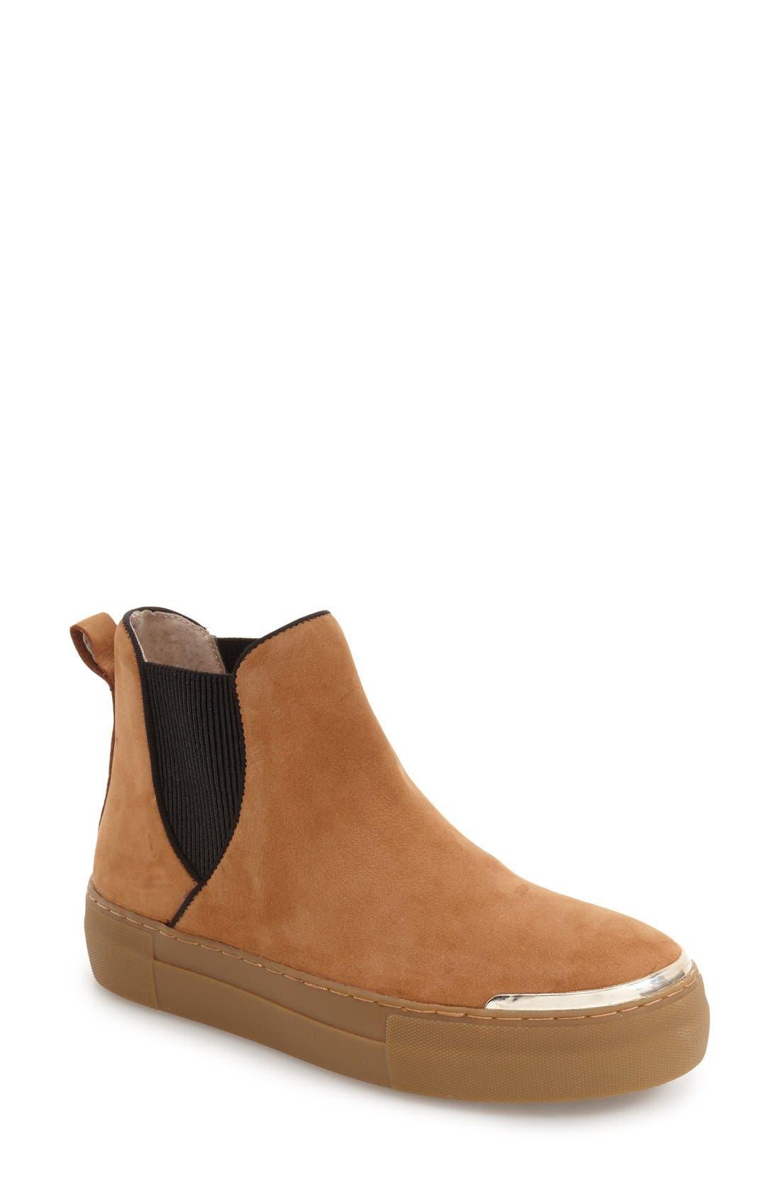 JSlides Palia High Top Chelsea Platform Sneaker (Women)