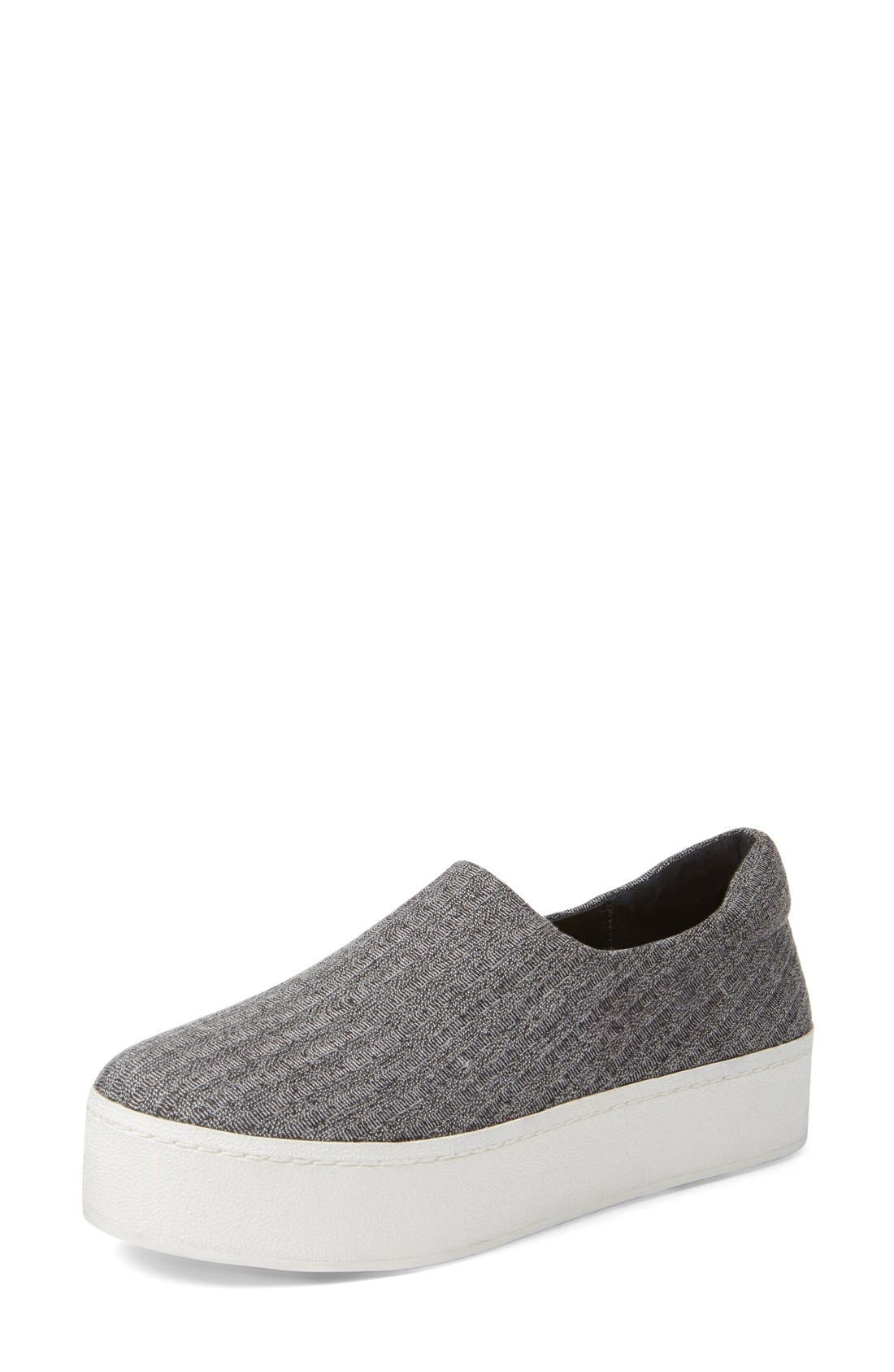 Alternate Image 1 Selected - Opening Ceremony Cici Ribbed Jersey Platform Sneaker (Women)