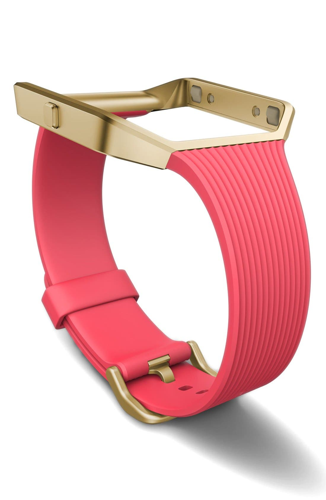 'Blaze' Slim Accessory Band & Frame,                             Main thumbnail 1, color,                             Pink
