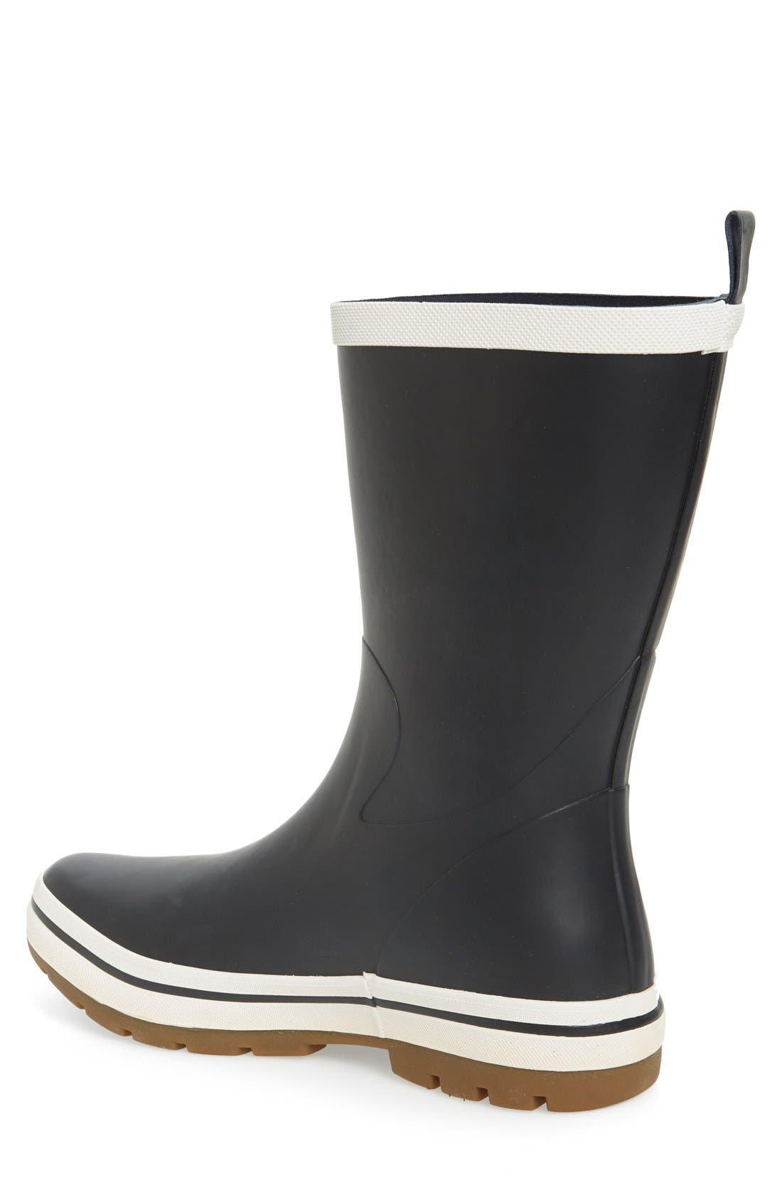 'Midsund 2' Rain Boot,                             Alternate thumbnail 2, color,                             Navy