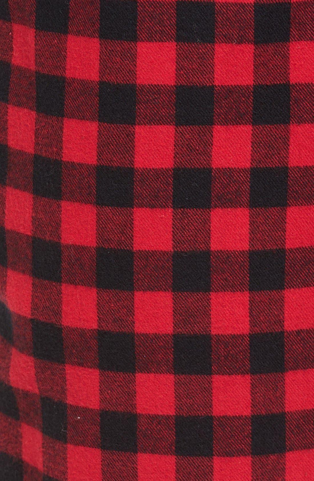 Alternate Image 5  - Nordstrom Men's Shop Flannel Lounge Pants