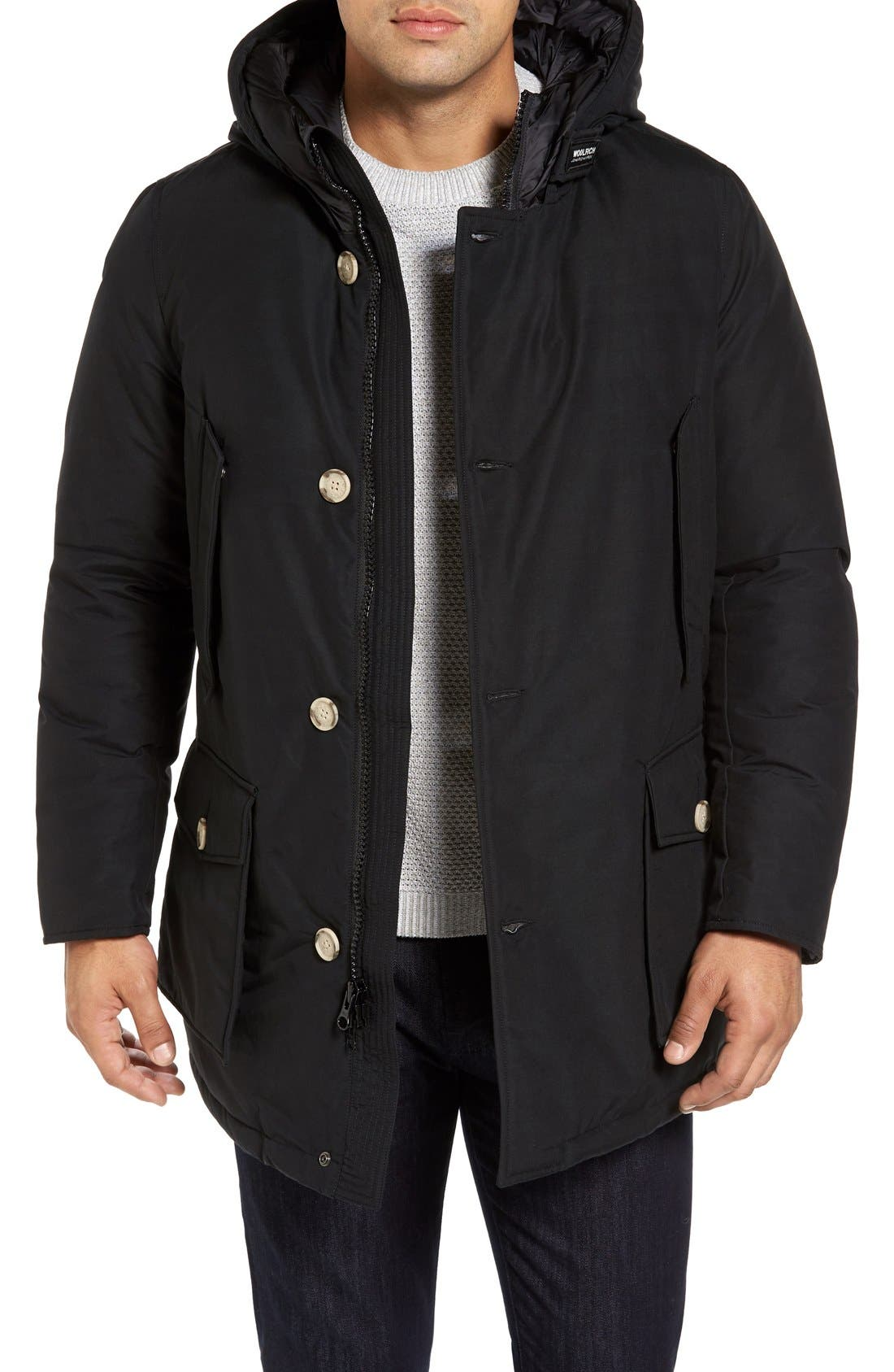 John Rich Down Arctic Parka,                         Main,                         color, New Black