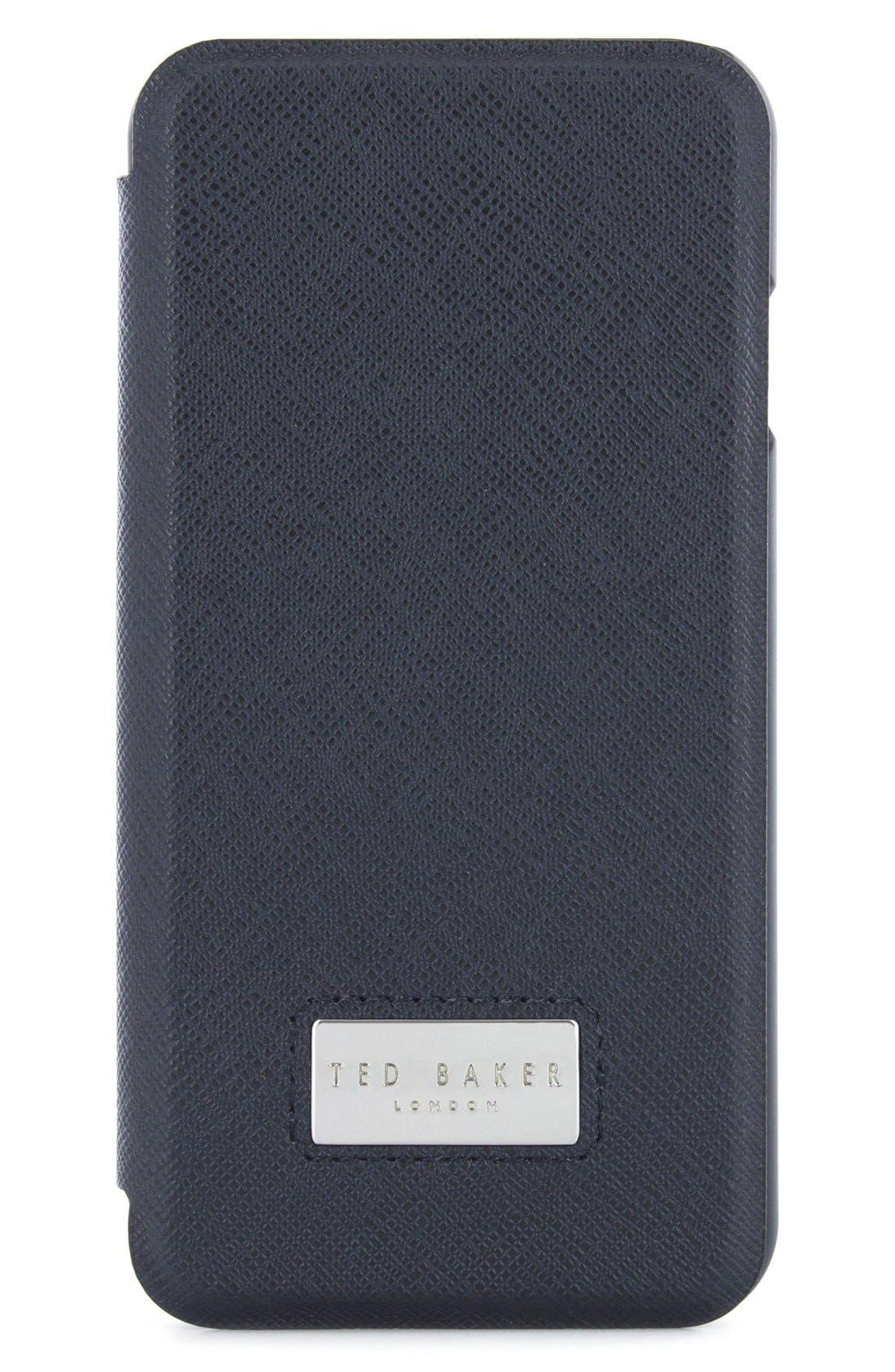 Aries iPhone 6/6s/7/8 Folio,                         Main,                         color, Navy