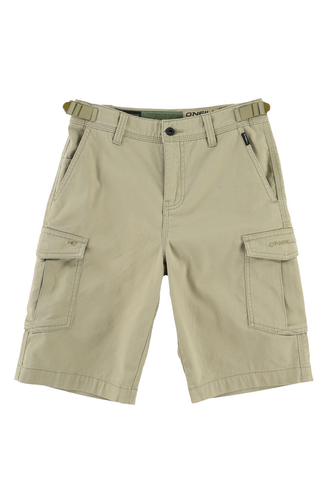 El Toro Cargo Shorts,                         Main,                         color, Khaki