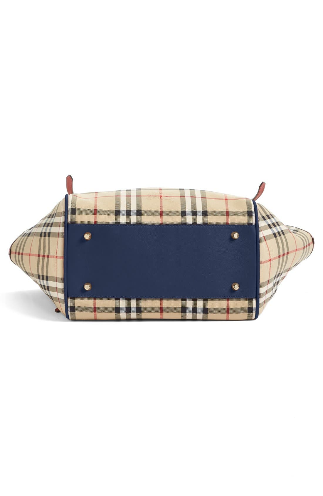 Alternate Image 6  - Burberry Small Canter Horseferry Check Tote