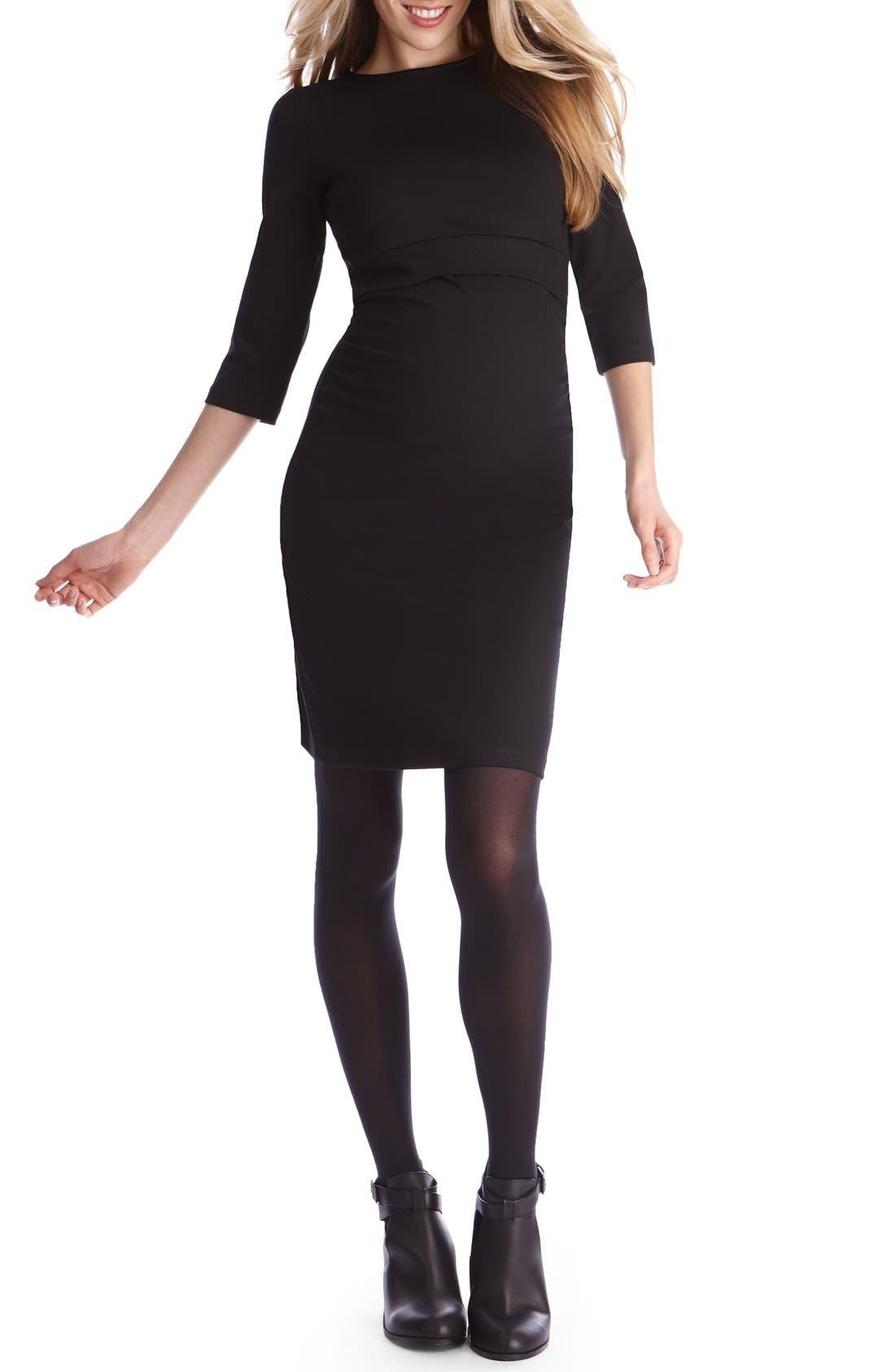 Seraphine Aviana Maternity/Nursing Shift Dress