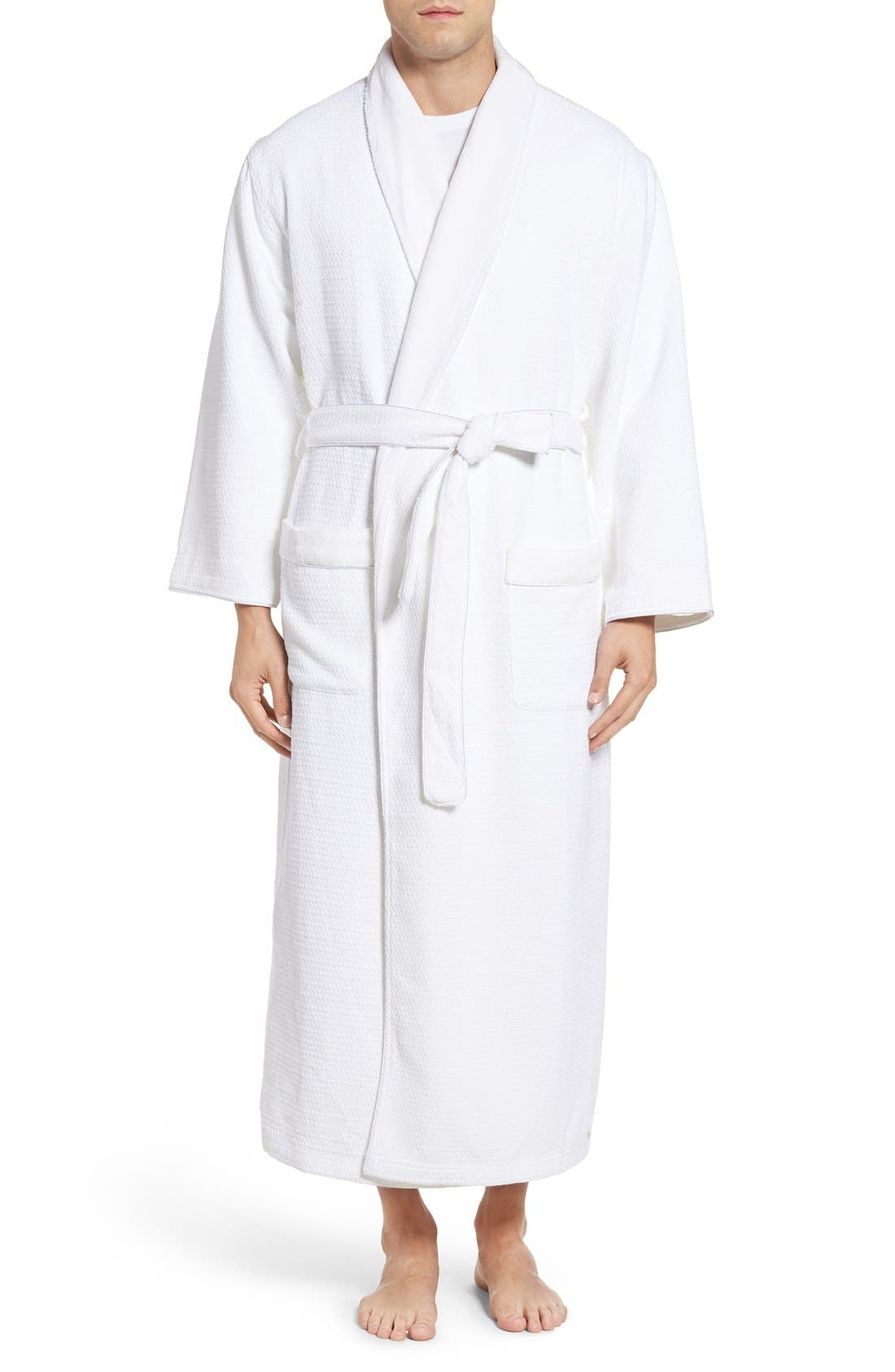 Majestic International Wellington Cotton Blend Robe