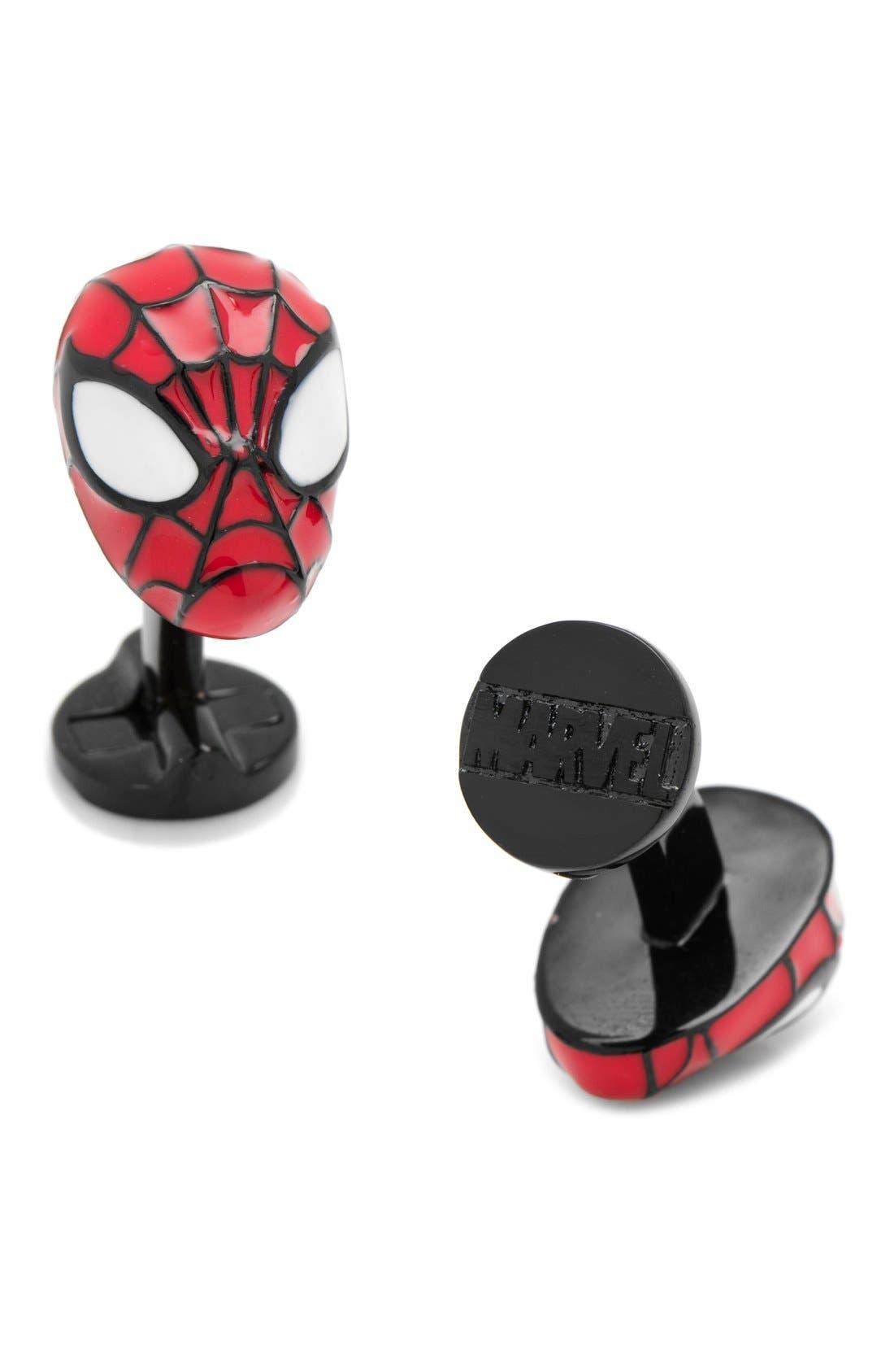 Alternate Image 1 Selected - Cufflinks, Inc. Marvel Spider-Man Cuff Links