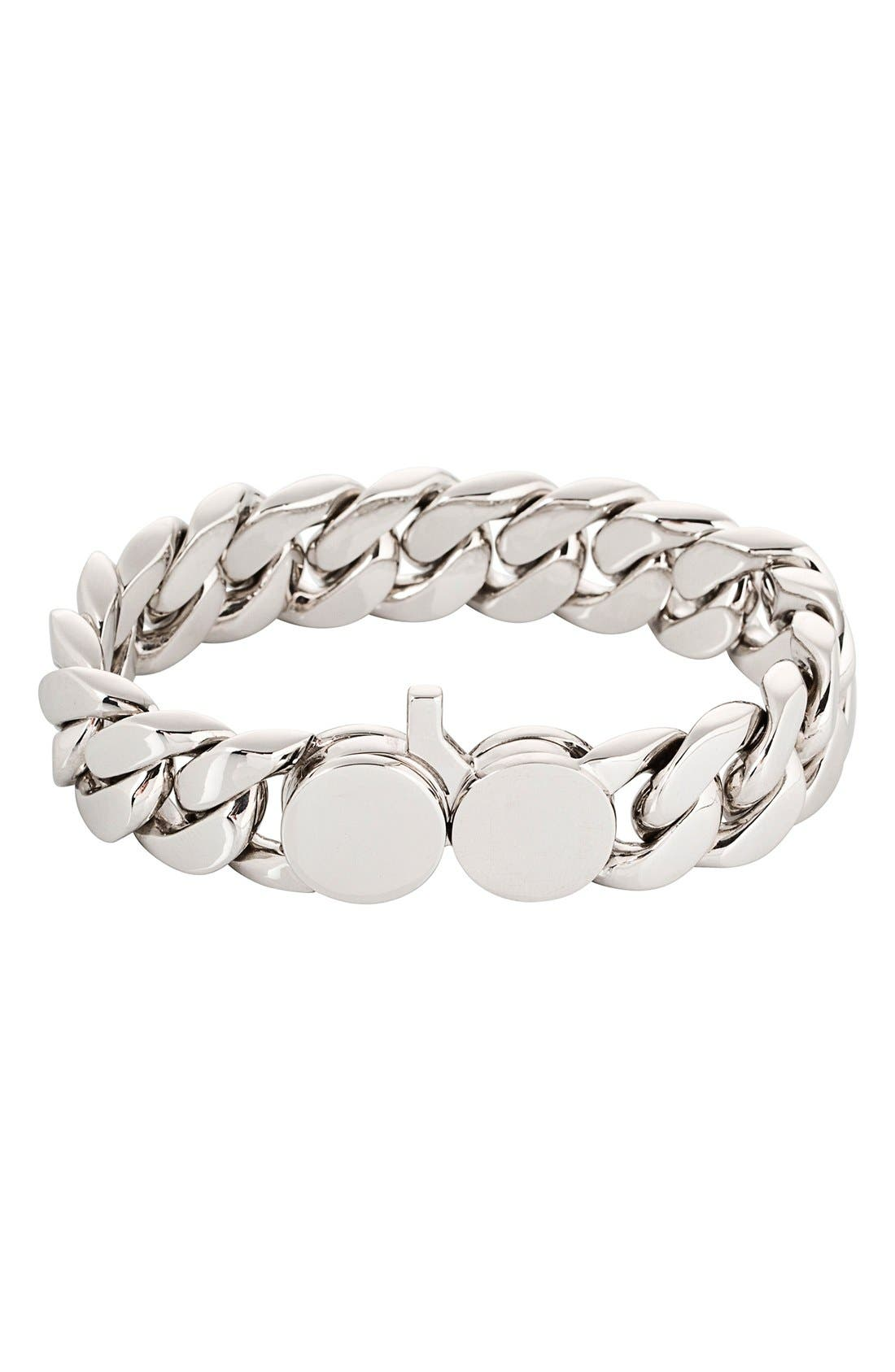 Tom Wood Slim Silver Chain Link Bracelet