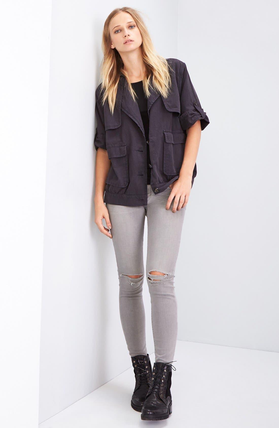 Alternate Image 2  - FRAME 'Le Skinny de Jeanne' Jeans (Wilton)