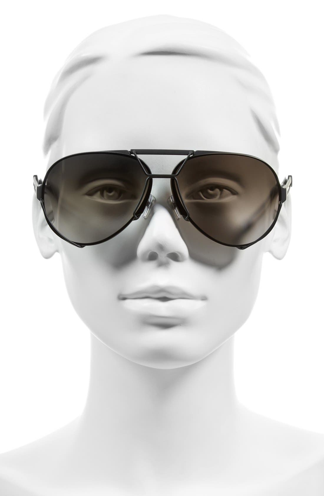 Alternate Image 2  - Givenchy 65mm Aviator Sunglasses