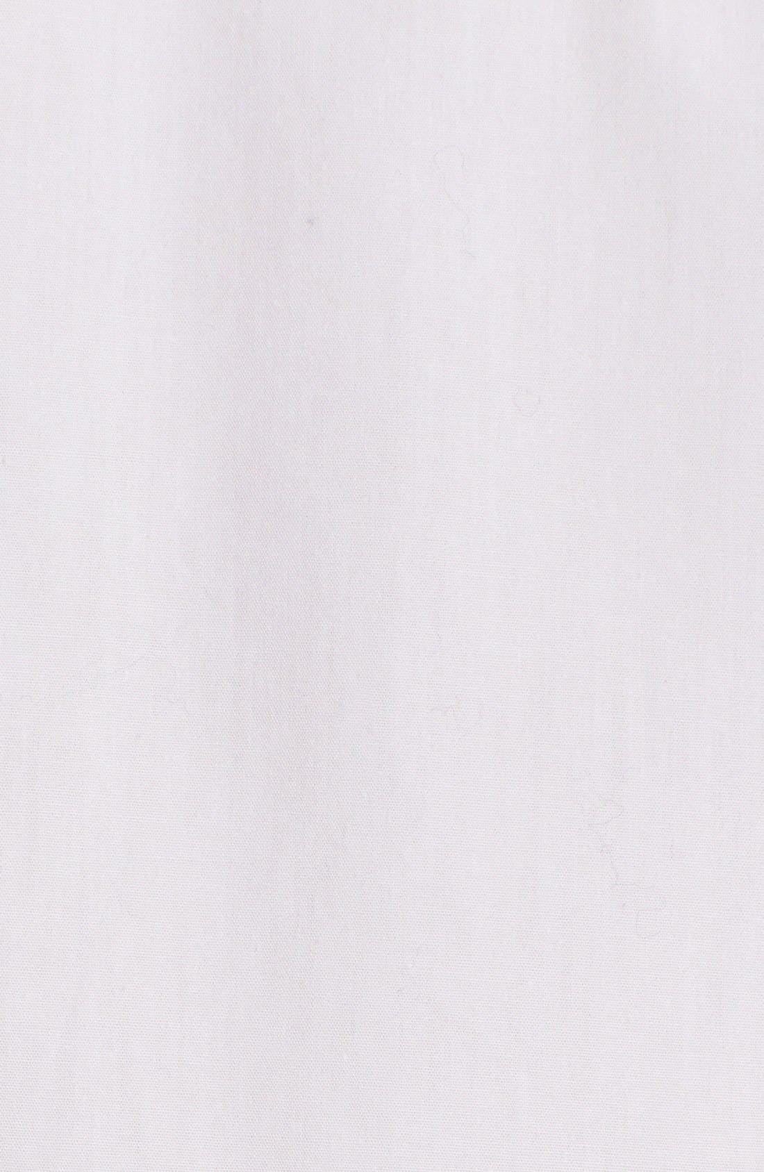 Truffaut Bell Sleeve Top,                             Alternate thumbnail 3, color,                             White