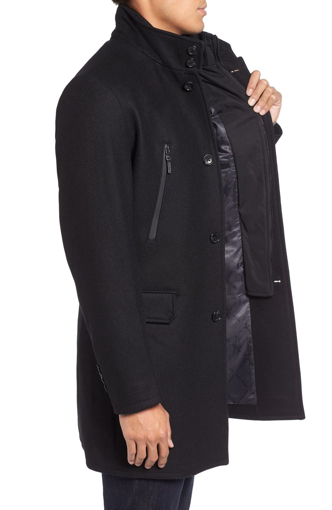 Alternate Image 3  - Michael Kors Wool Blend Topcoat