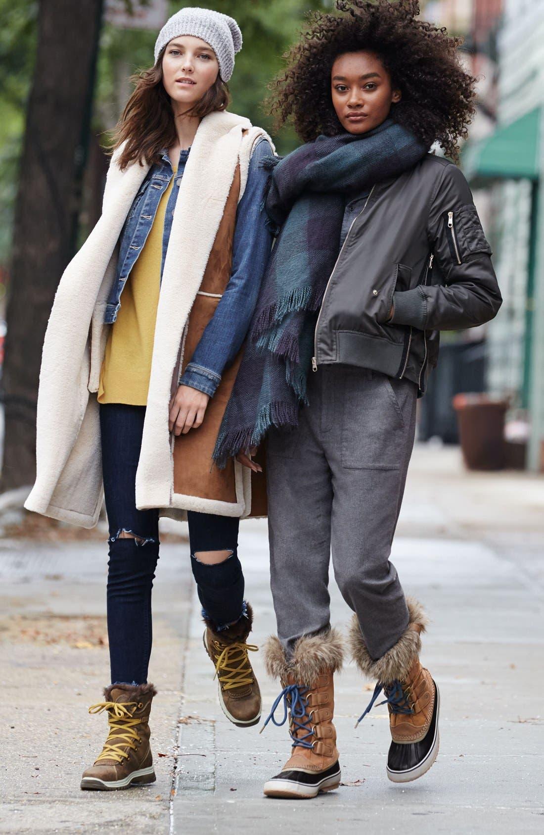 Alternate Image 5  - Santana Canada 'Majesta' Faux Fur Boot (Women)