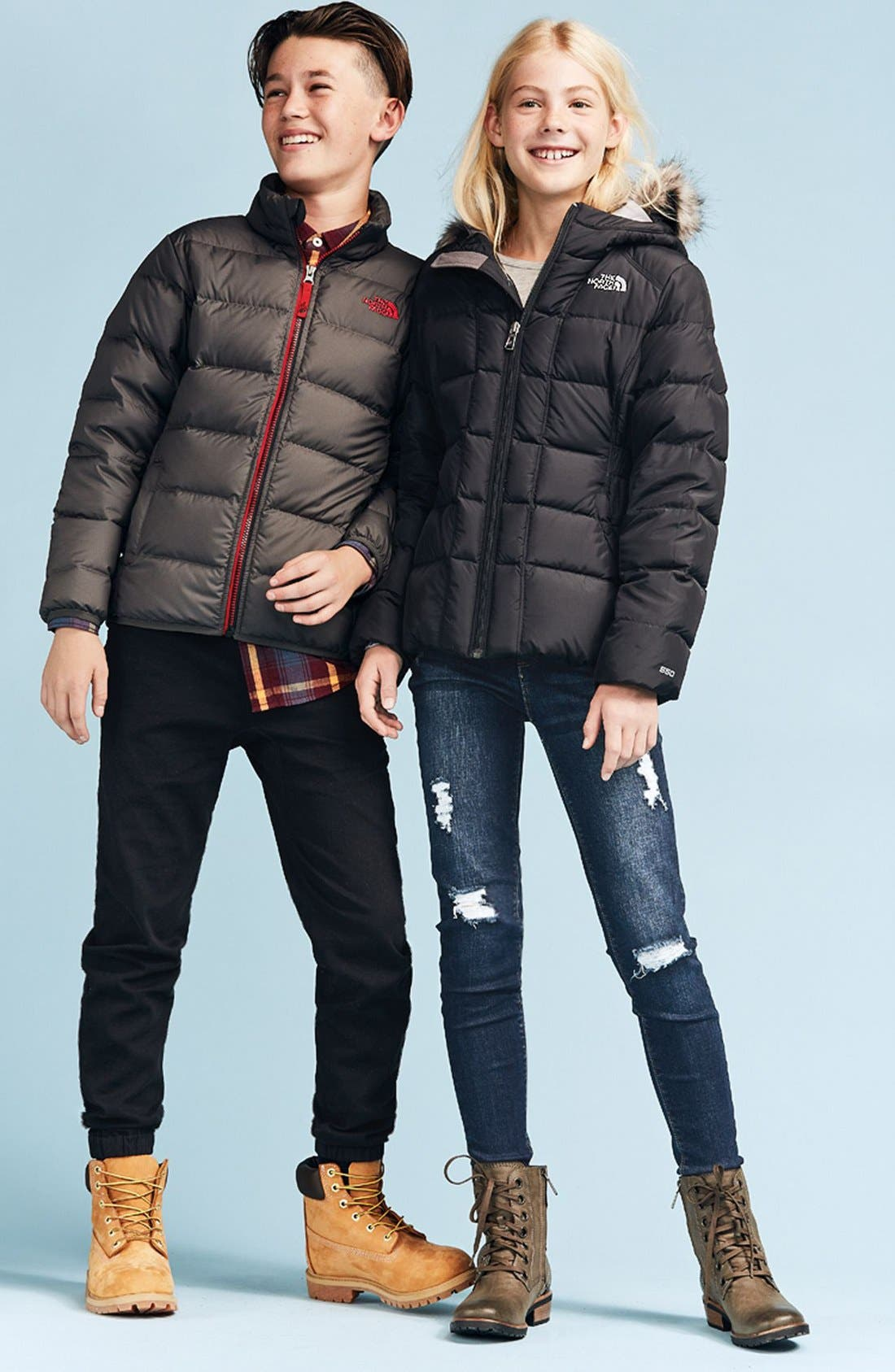 Alternate Image 2  - The North Face 'Andes' Water Resistant 550-Fill Compressible Down Jacket (Big Boys)