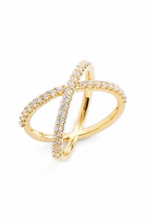 Nadri Crossover Cubic Zirconia Ring