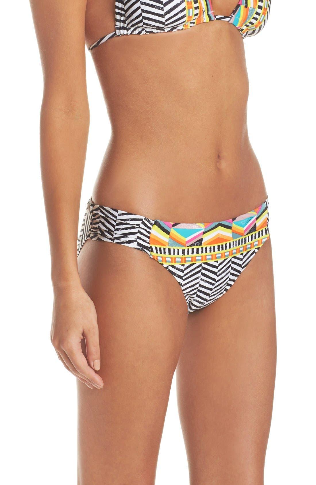 Alternate Image 3  - Trina Turk Brasilia Shirred Hipster Bikini Bottoms