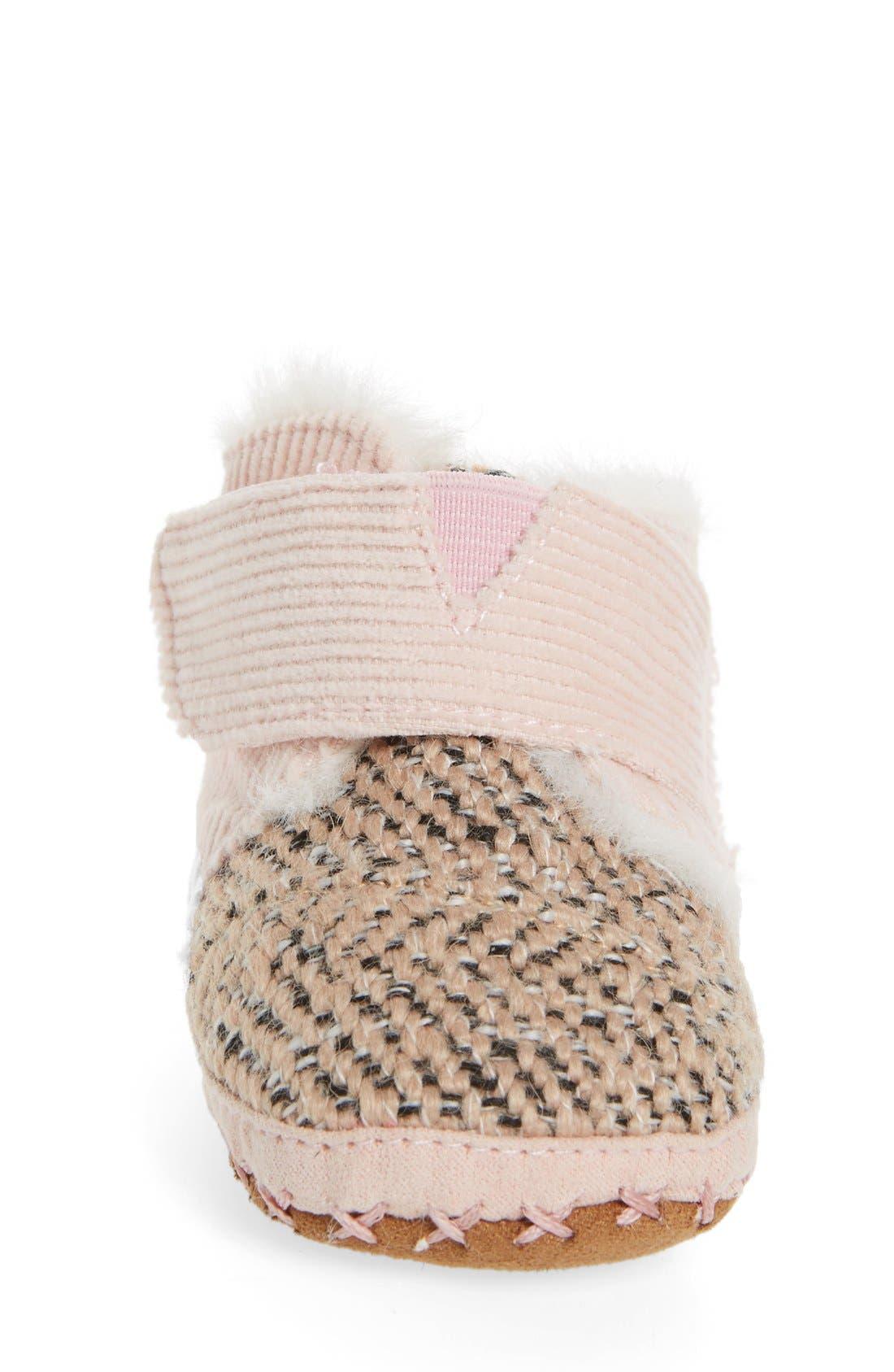 Alternate Image 3  - TOMS Cuna Crib Shoe (Baby)