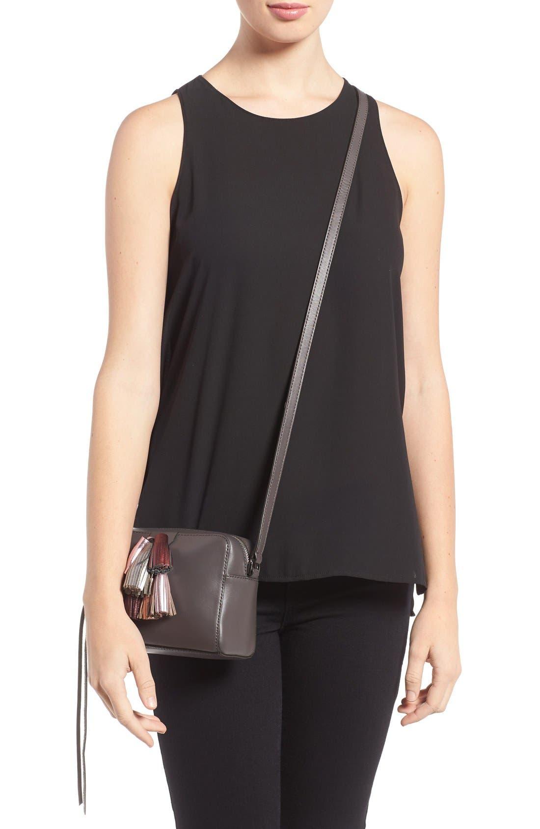Alternate Image 2  - Rebecca Minkoff Mini Sofia Leather Crossbody Bag