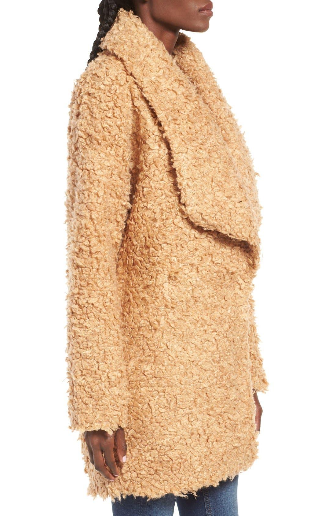 Alternate Image 3  - MOON RIVER Bouclé Coat