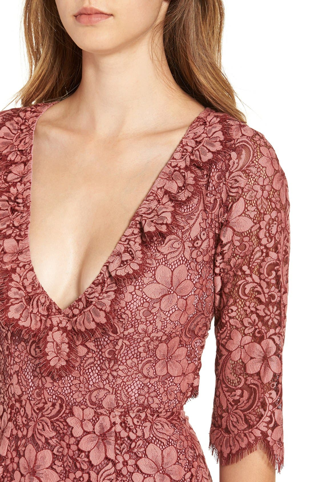 Alternate Image 4  - For Love & Lemons 'Theodora' Minidress