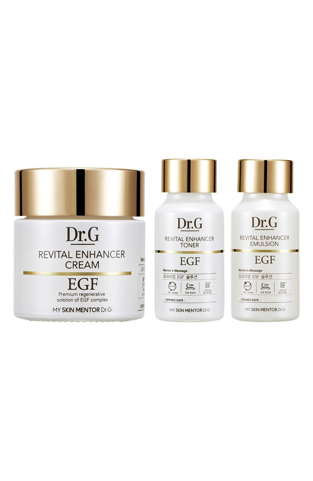 My Skin Mentor Dr. G Beauty Revital Enhancer Cream Set