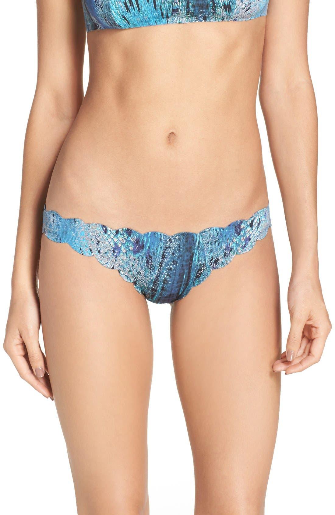 Alternate Image 2  - PilyQ Seamless Reversible Bikini Bottoms