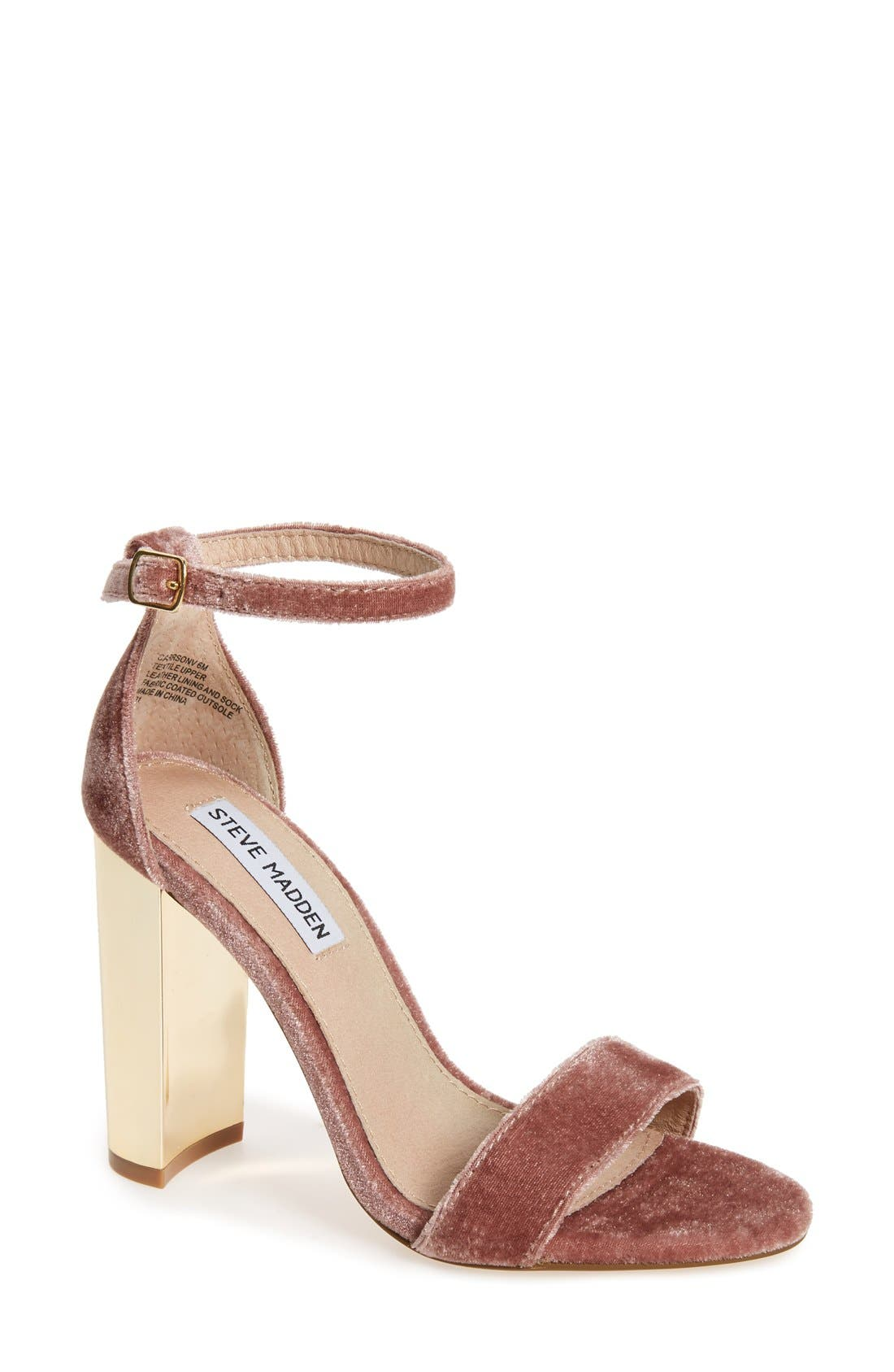 Alternate Image 1 Selected - Steve Madden Carrson Strappy Sandal (Women)