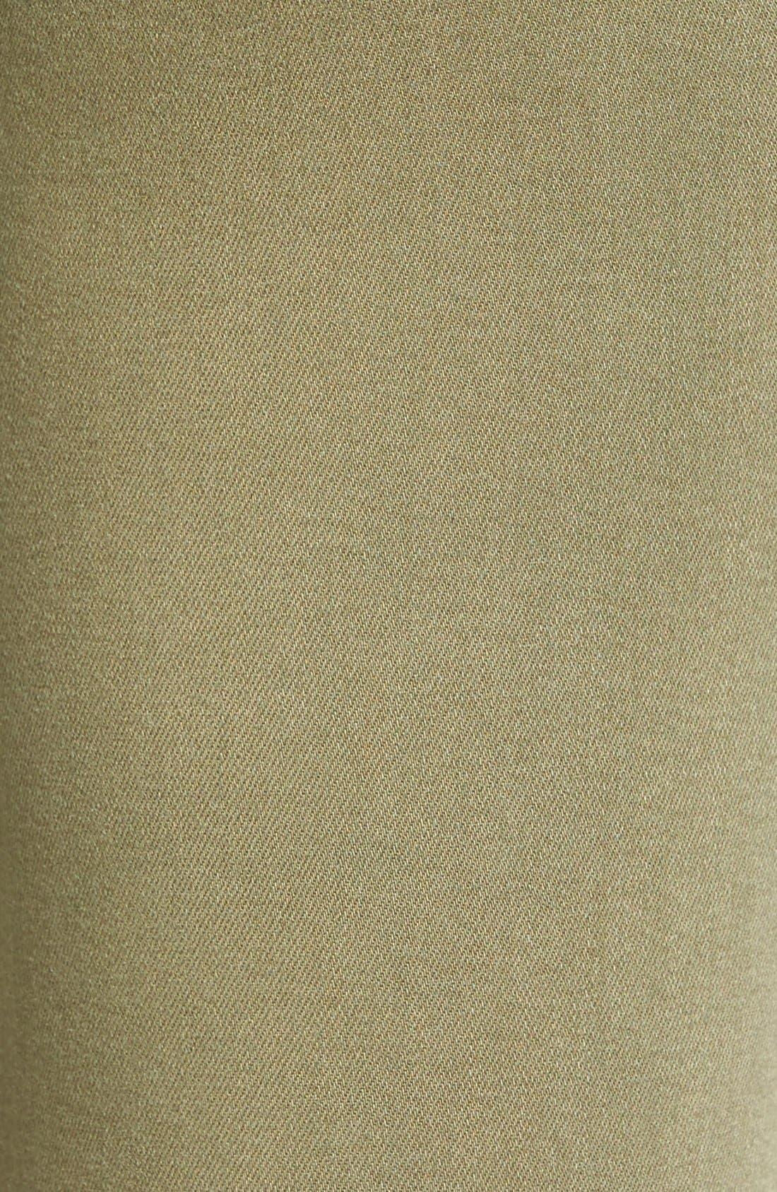 Transcend - Verdugo Ankle Skinny Jeans,                             Alternate thumbnail 4, color,                             Sahara Green