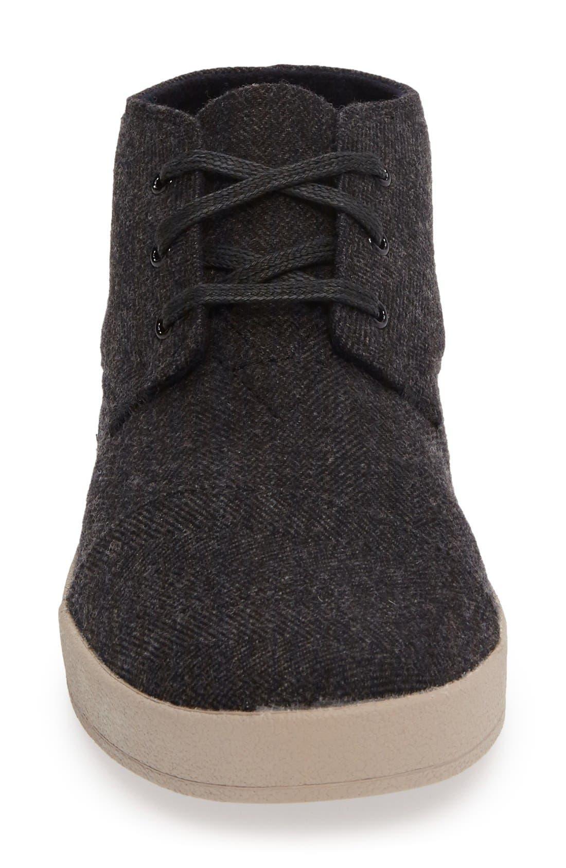 'Paseo Mid' Sneaker,                             Alternate thumbnail 3, color,                             Grey