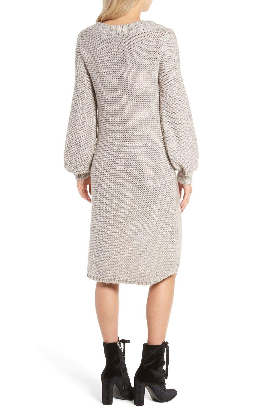 Alternate Image 2  - Somedays Lovin Making Melody Knit Midi Dress