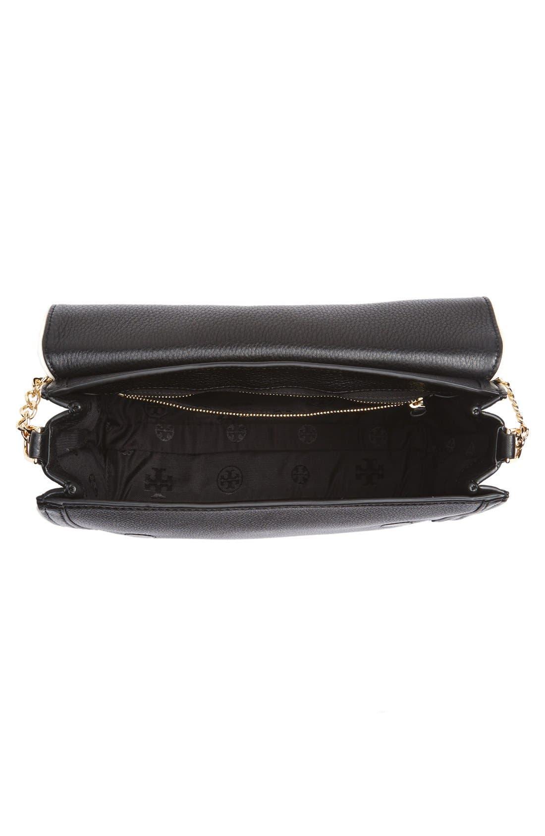 Alternate Image 4  - Tory Burch Large Duet Leather Shoulder Bag
