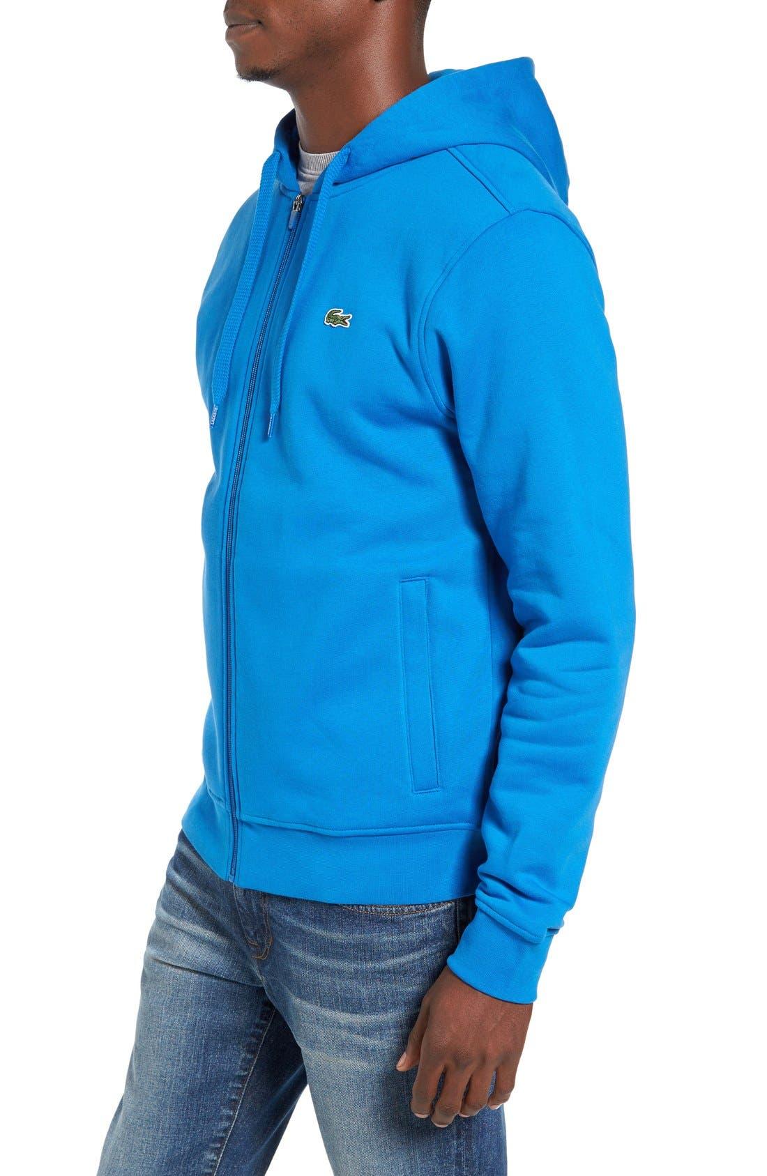 Alternate Image 3  - Lacoste 'Sport' Zip Hoodie