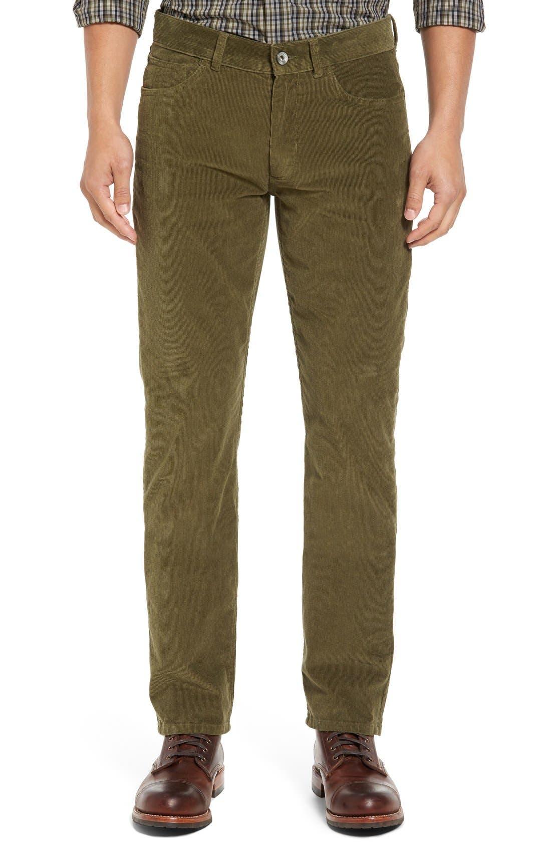 Alternate Image 1 Selected - Victorinox Swiss Army® Industrialist Slim Fit Corduroy Pants