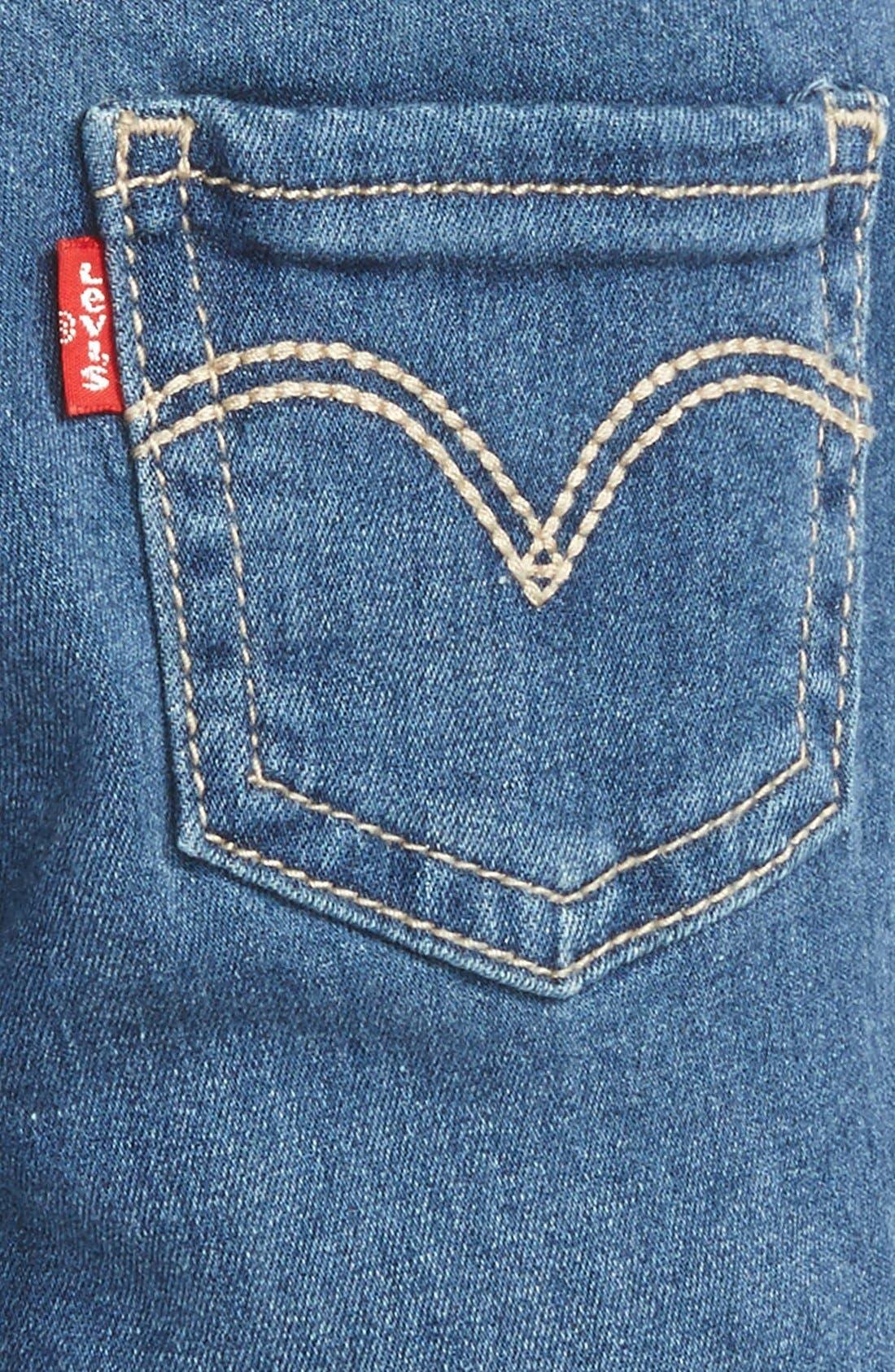 Skinny Jeans,                             Alternate thumbnail 3, color,                             Costal